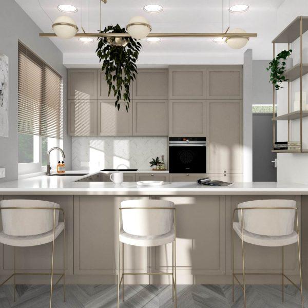 Vaizdas į virtuvę